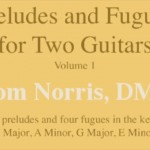 Preludes and Fugues for Two Guitars (Vol. 1)