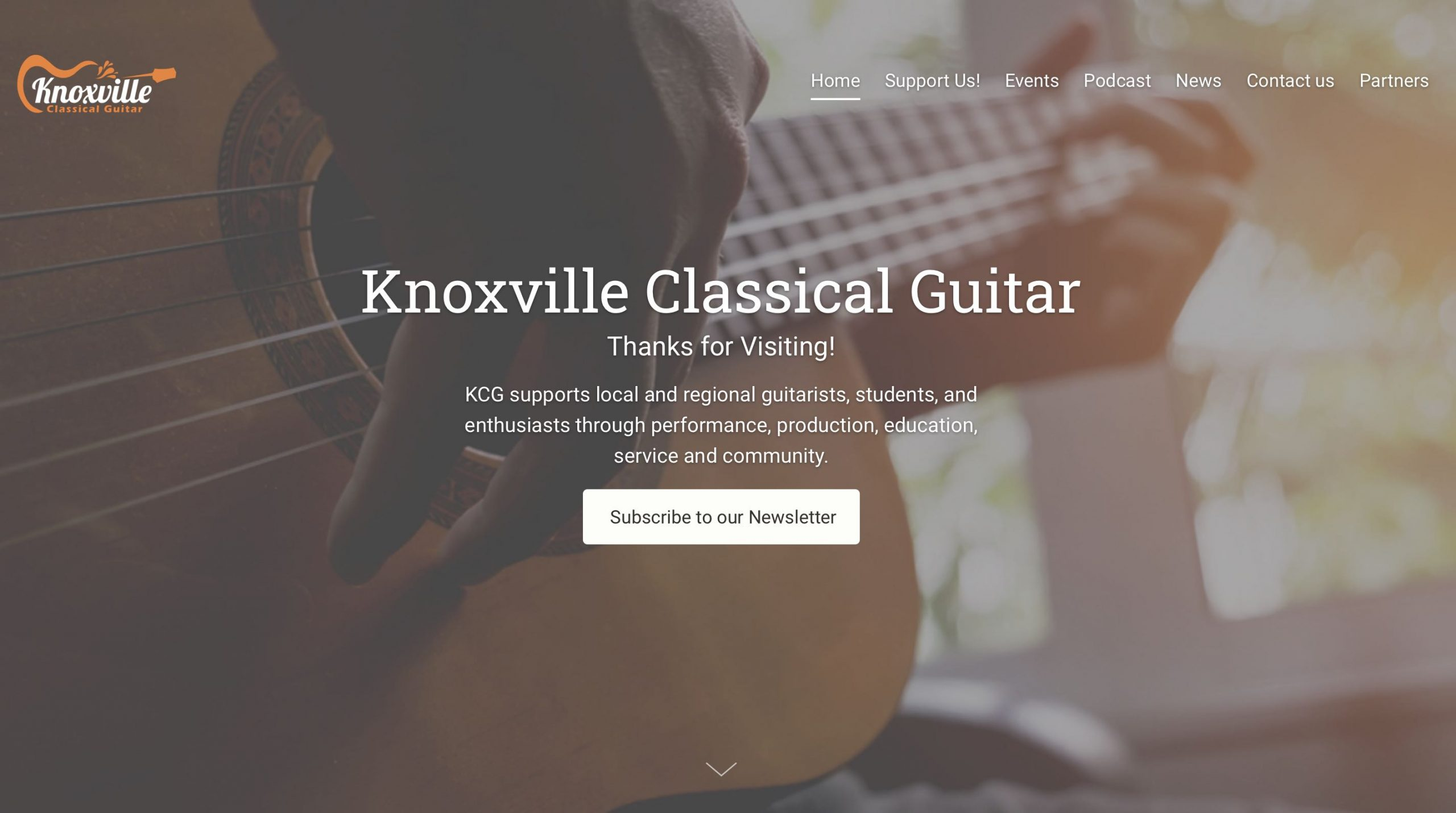 Knoxville Classical Guitar